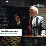Sir David Attenborough urges the world to tackle climate change