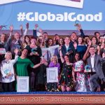 Who received gold at the Global Good Awards?